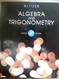 Algebra and Trigonometry 4th Ed