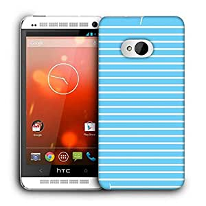 Snoogg Airplane Lines Vector Printed Protective Phone Back Case Cover For HTC One M7