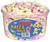 Haribo Katz und Maus, 1er Pack (1 x 600 g Dose)