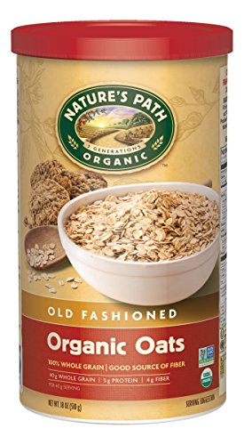 Nature's Path Organic Oven Toasted Old Fashioned Oats, 18-Ounce Canisters (Pack of 6) (Oven Toasted Oats compare prices)