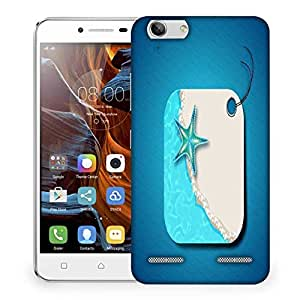 Snoogg abstract summer background Designer Protective Back Case Cover For Lenovo K5 Vibe