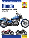 Honda Shadow VT600 & 750 1988 to '09