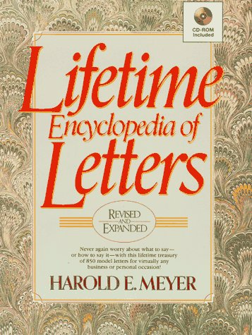 Lifetime Encyclopedia of Letters (1996), Meyer,Harold E.