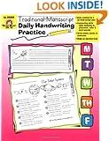 Daily Handwriting Practice :Traditional Manuscript