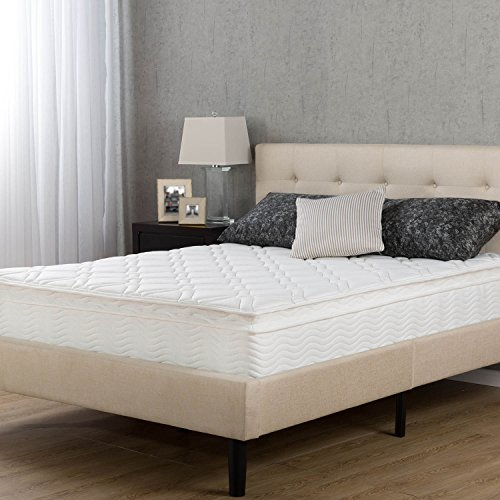 Night Therapy Spring 10 Inch Pillow Top Mattress, Queen (Rv Pillow Top Mattress compare prices)
