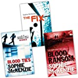 Sophie McKenzie 3 Books Collection Pack Set RRP: £22.28 (The Fix, Blood Ties, Blood Ransom) Sophie McKenzie