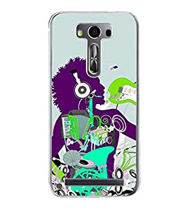 ifasho Boy dancing with music box Back Case Cover for Asus Zenfone Selfie