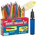 Toysmith Giant Rocket Balloon Set #2534