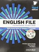 English file pre-intermediate Student's Book + Printed Workbook with Key + Online Skills Practice, 3 Edition (English File Third Edition)