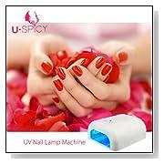 USpicy Nail UV Lamp Acrylic Gel & Shellac CURING DRYER