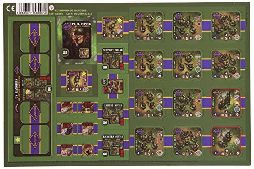 Heroes of Normandie - US Rangers Board Game - 1