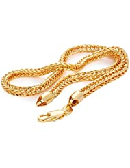 Magic Stones Brass 18 CT Gold And Rodium Plated Chain For Men-VEchain11 - B018CR81VW