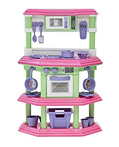 Buy american plastic toys my very own sweet treat kitchen for Kitchen set toys amazon