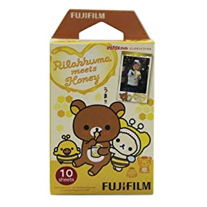 Fuji Instax Mini Instant Film 10 Exposures - Rilakkuma meets Honey