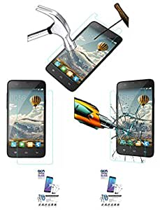 Acm Pack Of 2 Tempered Glass Screenguard For Infocus M530 Mobile Screen Guard Scratch Protector