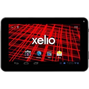 XELIO Tablet with 4GB Memory 7"