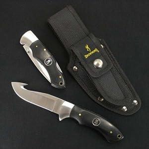 ブローニング ハンティングナイフ 2本