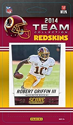Washington Redskins 2014 Score NFL Football Factory Sealed 10 Card Team Set with Alfred Morris Plus