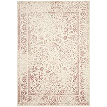 Safavieh Adirondack Collection ADR109H Ivory and Rose Oriental Vintage Area Rug (8' x 10')