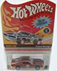 2001 HOT WHEELS RED LINE REDLINE CLUB EXCLUSIVE ONLINE EXCLUSIVE SERIES ONE SPECTRAFLAME ORANGE CUSTOM MUSTANG COLLECTOR #007