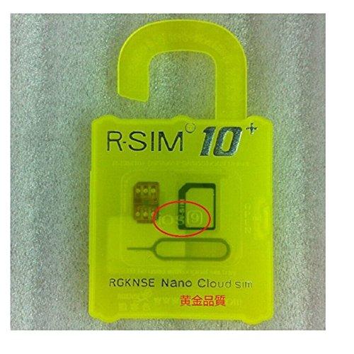 R-SIM 10+ iPhone6S /6S Plus /6/ 6 Plus/5S/5C sim ロック解除アダプタ iOS 9 対応 SIM Unlock アンロック SIMフリー 解除アダプタ 純正品 [並行輸入品]