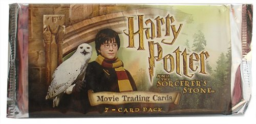 Harry Potter And The Sorcerer's Stone Booster Pack (7 Cards) - 1