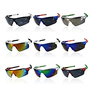 Polarised Fishing Cycling Wrap Running Outdoor Sports Sunglasses