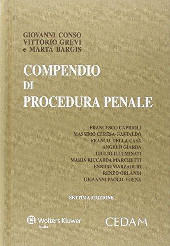 Compendio di procedura penale PDF