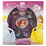 Disney Princess Bath And Beauty Treasures: Cinderella, Ariel & Belle