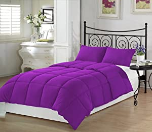 violet twin extra long comforter set by ivy union twin xl bedding purple. Black Bedroom Furniture Sets. Home Design Ideas