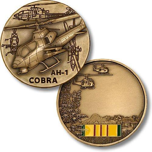 AH-1 Cobra / Vietnam Engravable Challenge Coin - 1