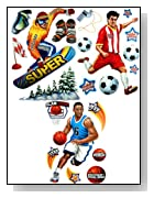 Bundle Kids Room Sports Pack Wall Mural