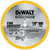 DEWALT DW3106P5D60I Series 20 10-Inch 60T Fine Finish Saw Blade, 2-Pack