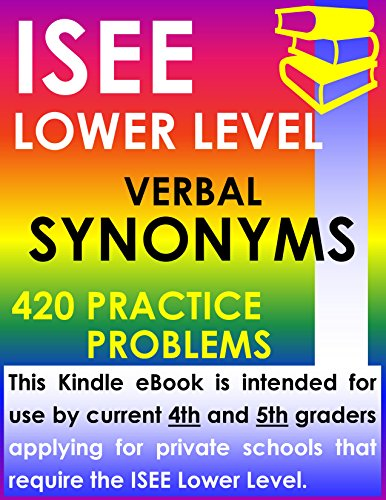 Isee Essay Lower Level
