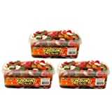 Swizzels Matlow Fun Gums Fizzy Mix Sweets 525 g (Pack of 3)by Swizzels Matlow