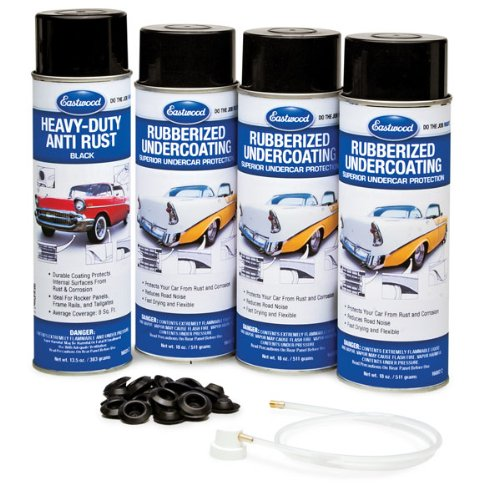 Eastwood Economy Rubberized Undercoating and Heavy Duty Anti Rust Kit