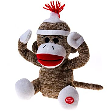 Peek A Boo Sock Monkey