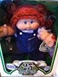 LIMITED EDITION Cabbage Patch Kids 25th Anniversary Doll - Caucasian Girl with Red Hair, Blue Eyes and Dimple - Luana Ora, Born August 1st
