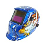 Neiko 53933A Auto-Darkening and Solar Power Welding Helmet for TIG/MIG - American Eagle