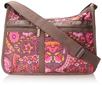 LeSportsac Deluxe Everyday Handbag,Flower Child,One Size