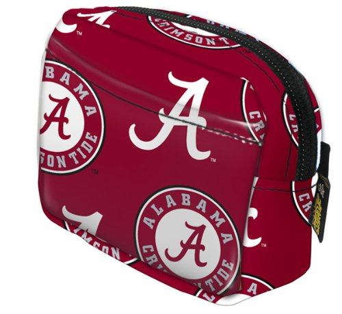 University of Alabama Logo Micro Purse Coin Key ID Case -SMALL WRIST WALLET for Man or Woman - Runners Joggers Walkers Fits most Digital Cameras, Running Accessories