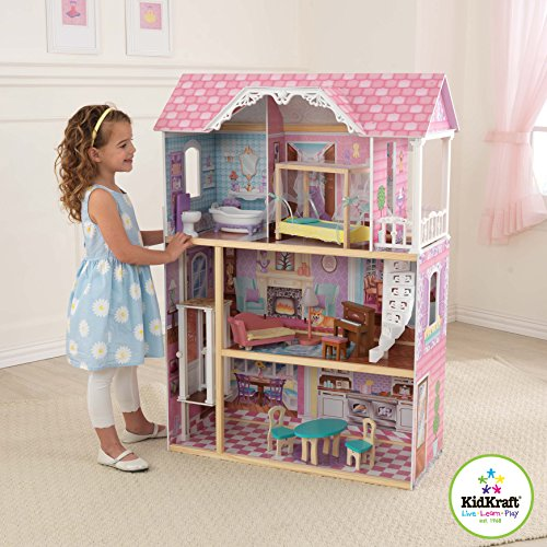Kidkraft charming chateau dollhouse toys games toys dolls for Kidkraft lantern floor lamp