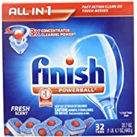 Finish Powerball Detergent Tablets
