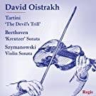 David Oistrakh Plays Tartini, Beethoven and Szymanowski