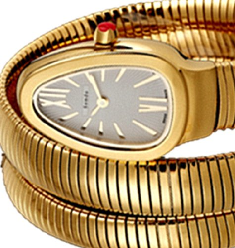 Semdu Women'S Sd9034L Gold Snake Watch