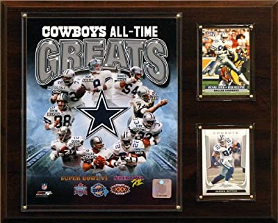 NFL Dallas Cowboys All-Time Greats Photo Plaque