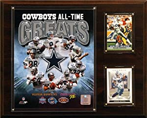 NFL Dallas Cowboys All-Time Greats Photo Plaque by C&I Collectables