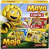 Studio 100 - MEMA00000120 - Die Biene Maja : 4-in-1 Spielebox