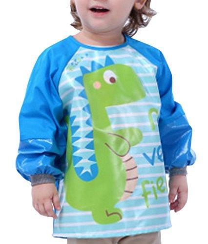 tablier-enfant-de-peinture-manches-longues-bavoir-repas-impermeable-bebe-garcon-motif-dinosaure-2-4a