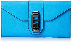 Rebecca Minkoff Mason Wallet, True Turquoise, One Size